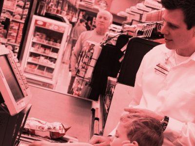 Boy at the Supermarket