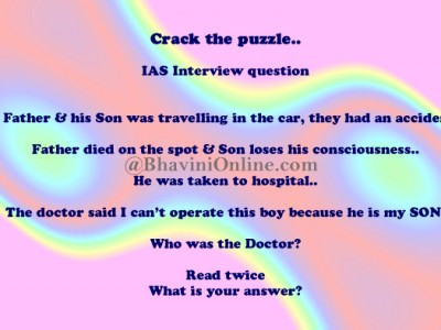 Whatsapp Riddle Who is The Doctor